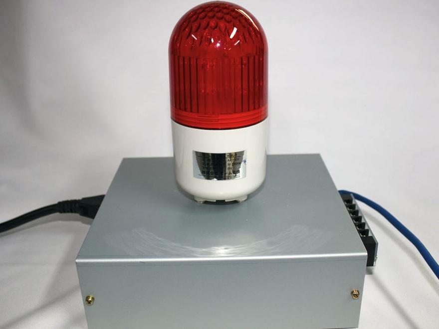 LAN対応警報接点装置(警報ライ...